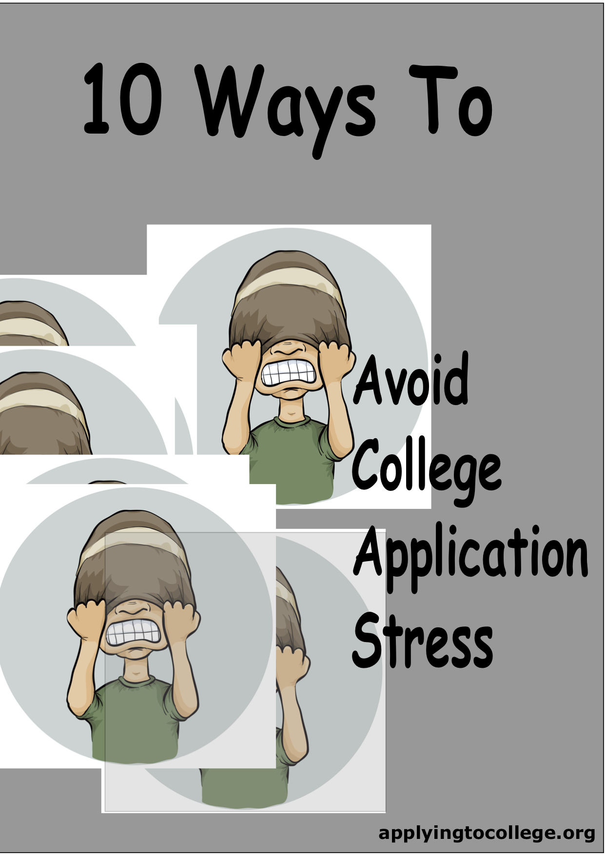 10 tips for students to reduce college application stress 10 ways to reduce college application stress