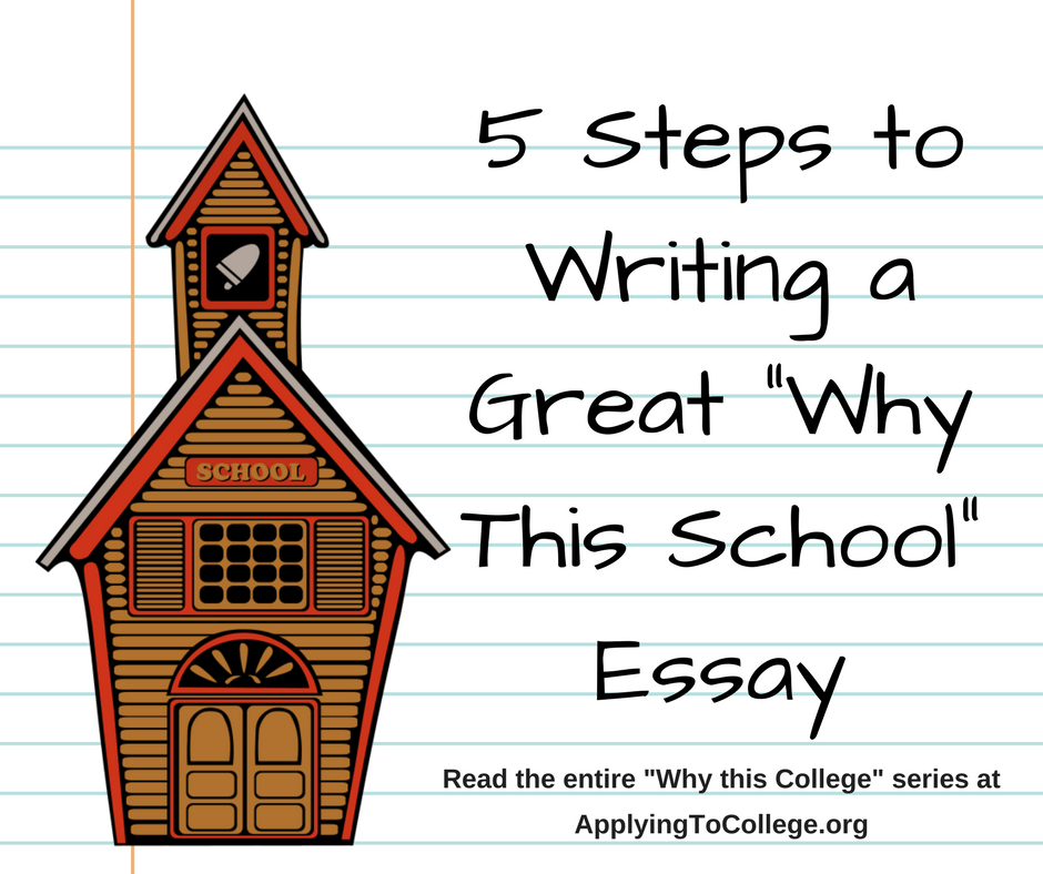 "college essay writing applying to college in my last post i wrote about what schools look for in a ""why do you want to attend our school "" essay"