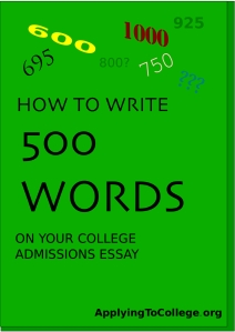 college-essay-500-word-limit