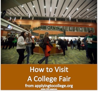 how to visit a college fair