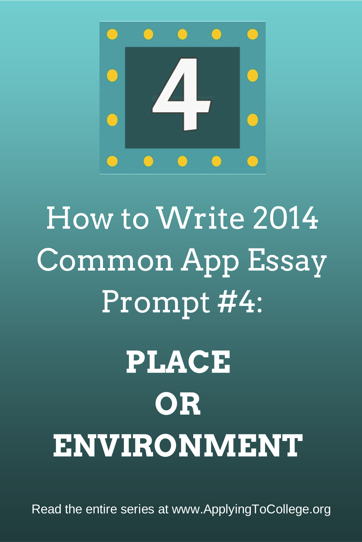 college admission essay prompt