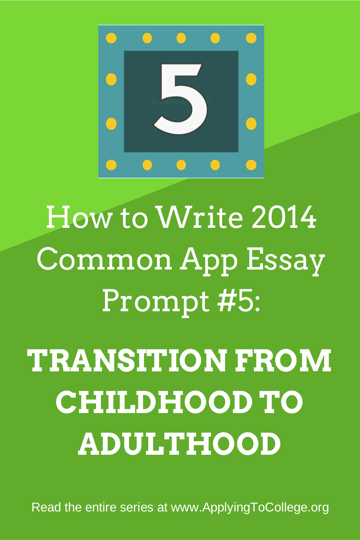 College Common App Essay Prompts 2014