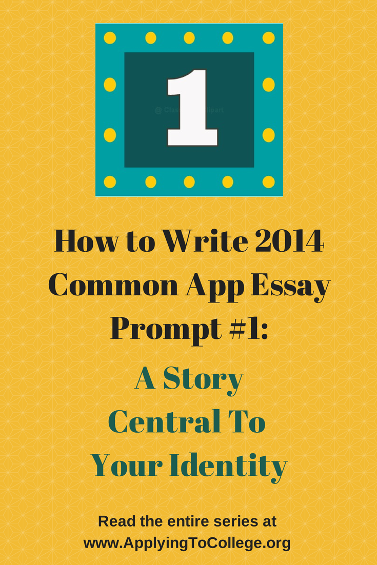 write good common application essay How do you write a great common application essay start here i've written a five-part series that explains the questions, gives you essay topic samples, and helps.