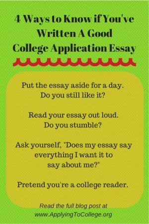 good topics for college essays