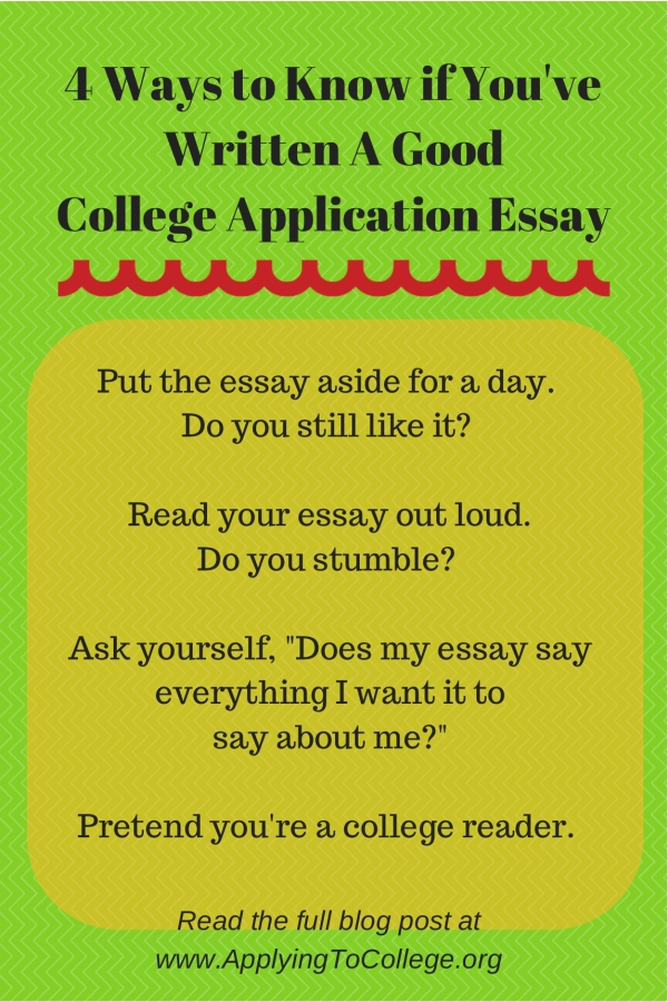 the best way to write a college essay How to write a college entrance application essay in such a way that the commission will like it if you write about your strengths with arbitrary text, your work can get very chaotic you can write such a text for yourself so that individual emotional parts are then included in your work.
