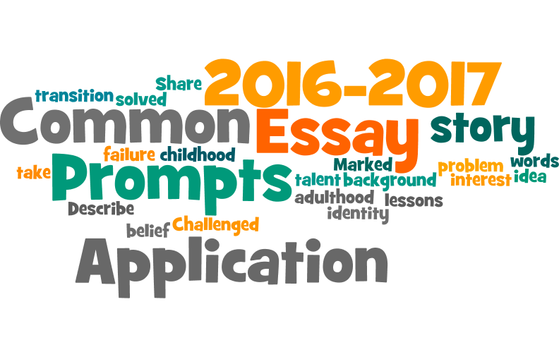 The common app essay