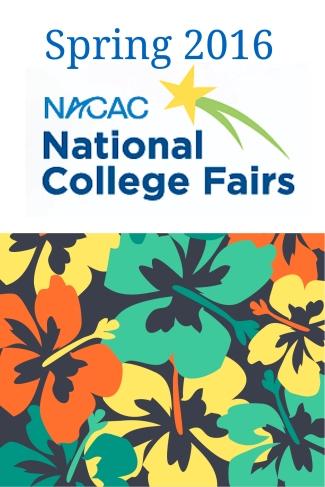 2016 spring college fairs