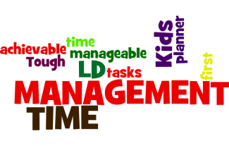 college essay time management for LD students