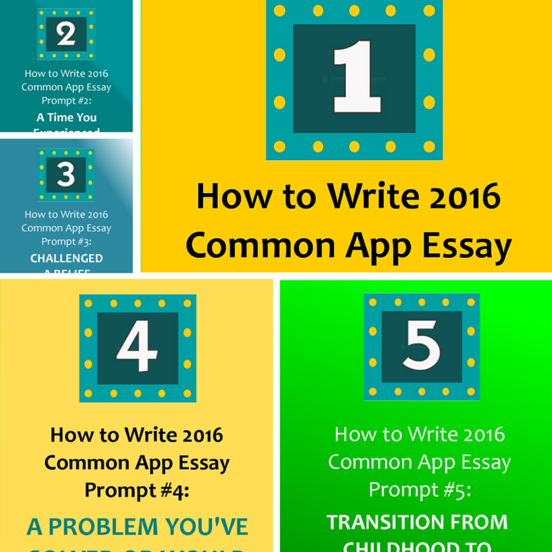 common app essay 2016 The common application has announced that the 2016-17 personal statement essay prompts will be the same as the 2015-16 prompts by conducting a review process every other year rather than annually.