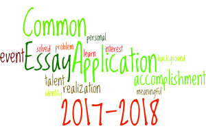 2017-2018 Common Application essay prompts