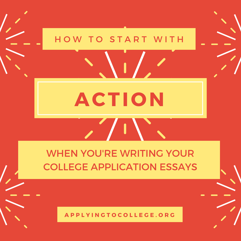 Telling Your Story to Colleges